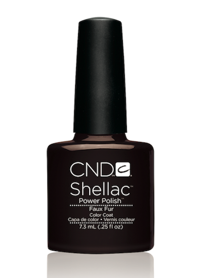 Cn40546 cnd shellac faux fur diva nails