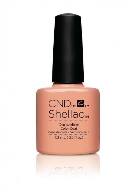 Cnd shellac dandelion diva nails