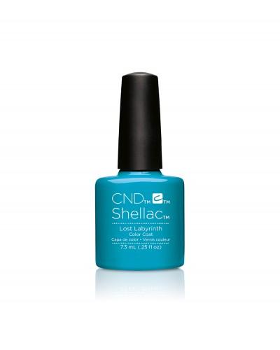 Cnd shellac lost labyrinth diva nails