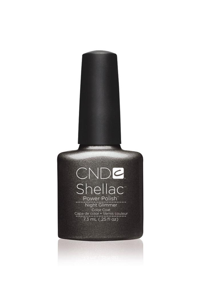 Cnd shellac night glimmer diva nails