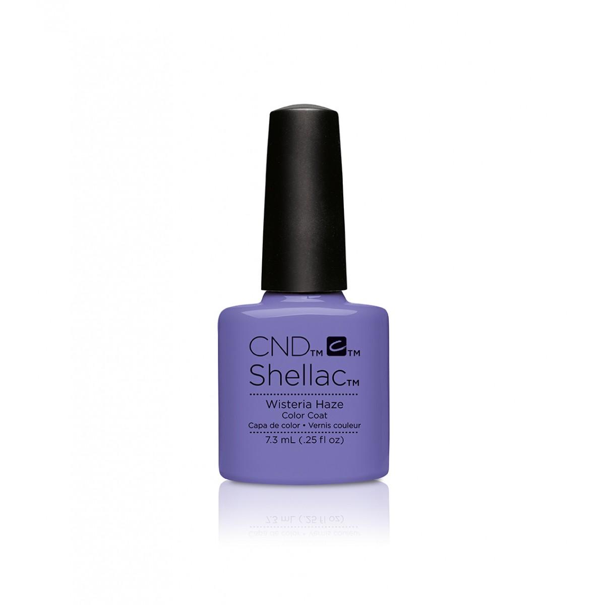 Cnd shellac wisteria haze diva nails