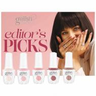 Gelish Editor's Picks pack: 5 couleurs 15ml