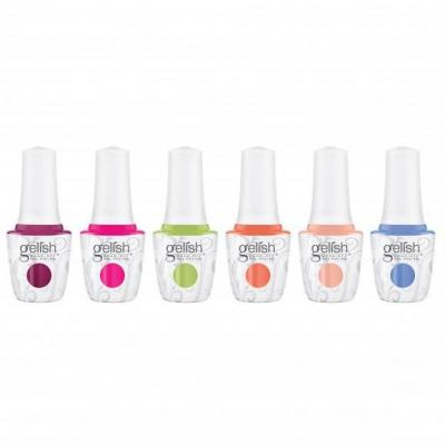 Collection Gelish Feel the Vibes - Display 6 pièces