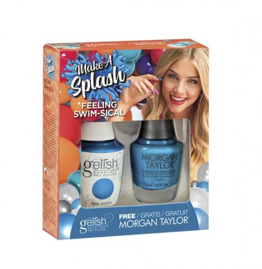 Gelish Feeling Swim-sical de la collection Make a Splash TOAK (2x15 ml)