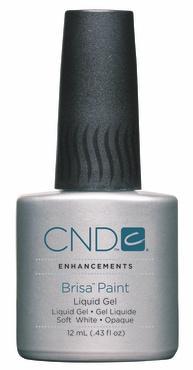 CND Brisa Paint liquid Gel - Soft White Opaque (12 ml)