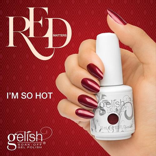 Gelish 1082 i m so hot diva nails t