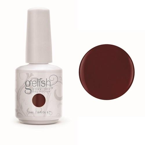 Gelish 1083 red alert diva nails a