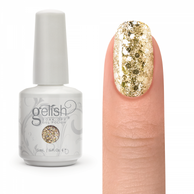 Gelish All That Glitters is Gold