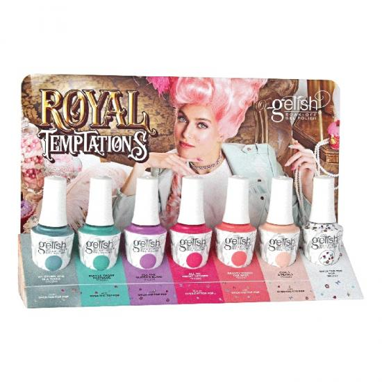Gelish collection complète Royal Temptations (7x15 ml)