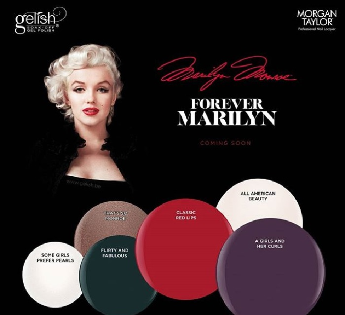 Gelish fabulous marilyn monroe 8