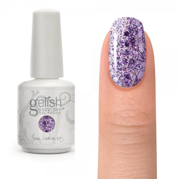 Gelish feel me on your fingertips diva nails