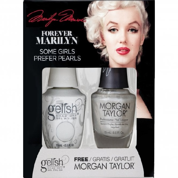 Gelish forever marilyn 1410353 some girls prefer pearls duo