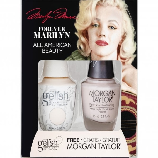 Gelish forever marilyn 1410354 all american beauty duo