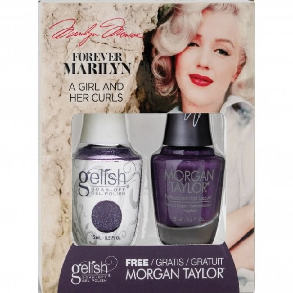 Gelish forever marilyn 1410355 a girl her curls duo