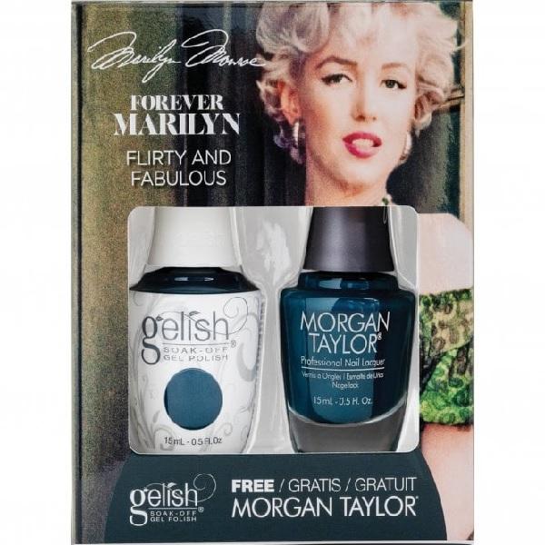 Gelish forever marilyn 1410357 flirty fabulous duo