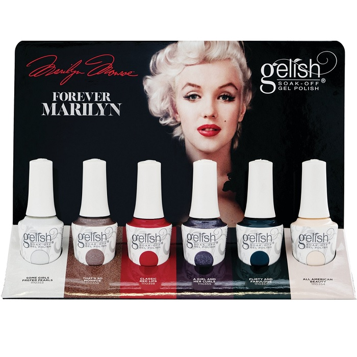 Gelish forever marilyn display