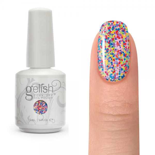 Gelish lots of dots diva nails