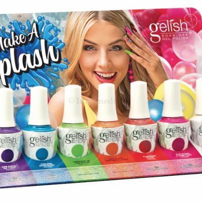 Gelish collection Make a Splash complète (7x15 ml)