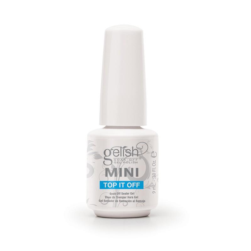 Gelish mini bottle topitoff