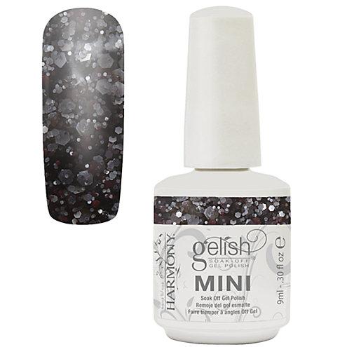 Gelish mini concrete couture diva nails