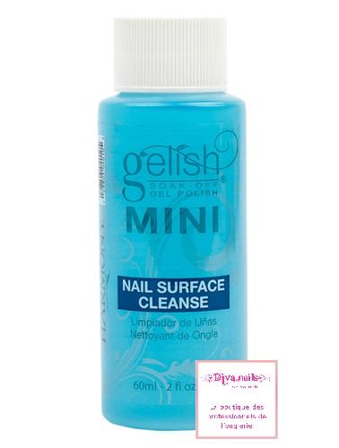 Gelish mini nailsurfacecleanse