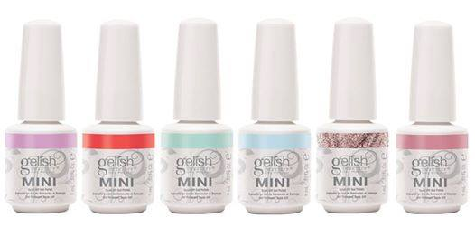 Gelish mini once upon a dream diva nails