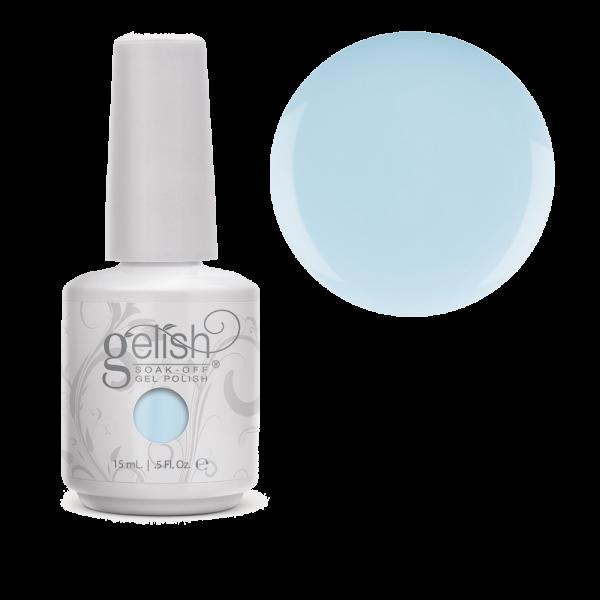 Gelish my one blue love diva nails