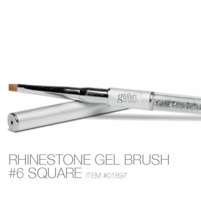 Gelish Rinestone #6 square Gel Brush