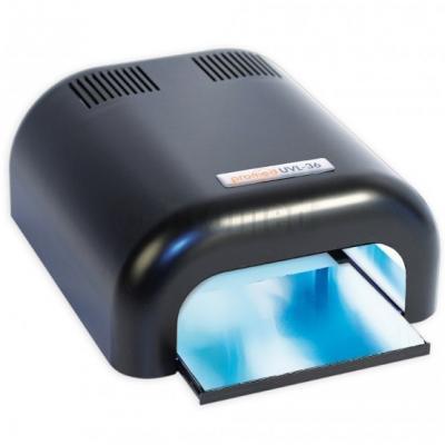 Promed, lampe tunnel UV noire - 4 X 36 Watt avec timer