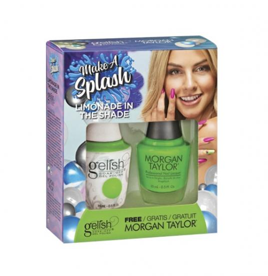 Gelish Limonade In The Shade de la collection Make a Splash TOAK (2x15 ml)