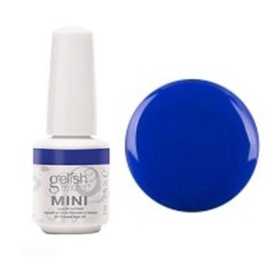 Mali blu me away gelish mini diva nails