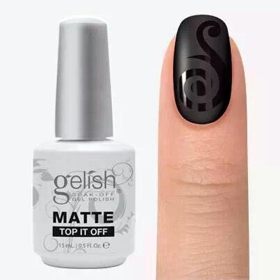 Gelish Matte Top it Off