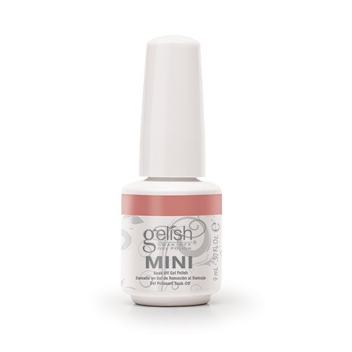 Mini gelish put in the air heart diva nails