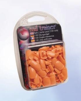 Nail Trainer Recharge de 100 ongles artificiels