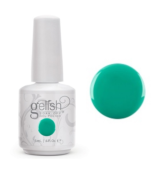 Rub me the sarong way gelish diva nails