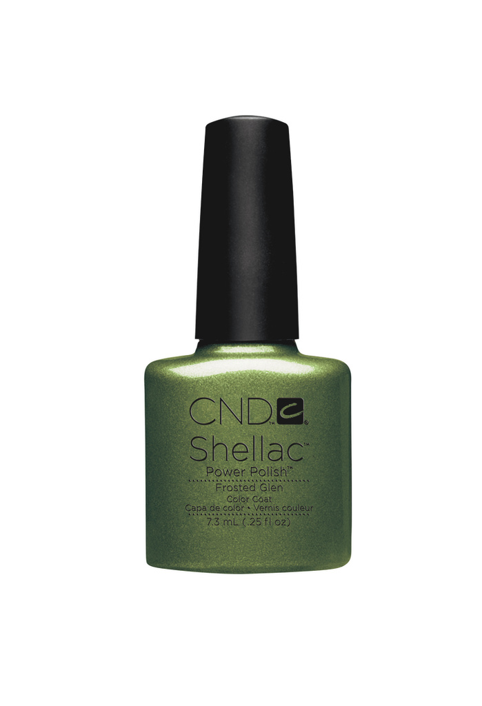 Shellac frosted glen cnd shellac store be