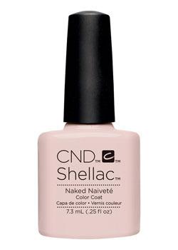Shellac naked naivete contradiction diva nails