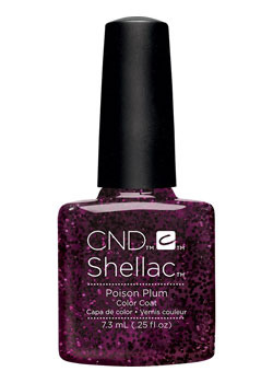 Shellac poison plum contradiction diva nails