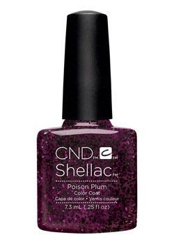 CND Shellac Poison Plum 7,3ml