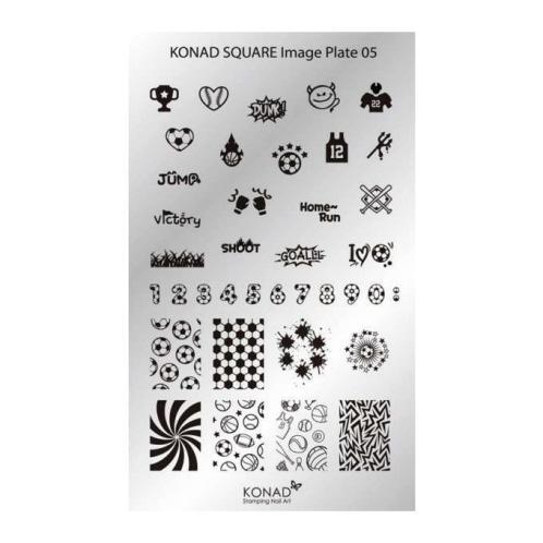 Konad Square image Plate 05