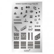 Konad Square image Plate 06