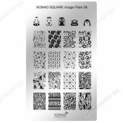 Konad Square image Plate 08