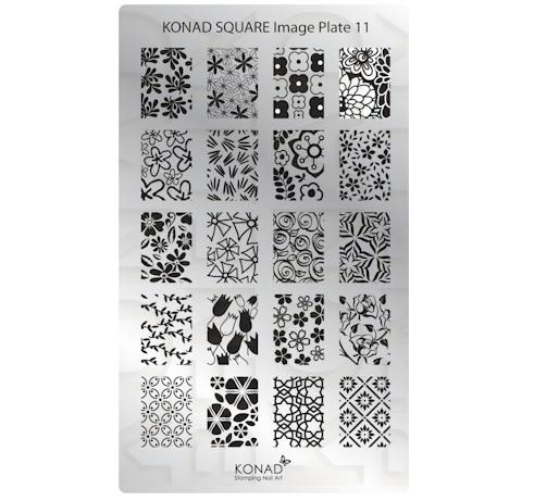 Konad Square image Plate 11