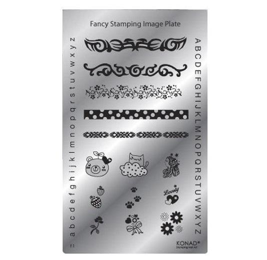 Konad Square image Plate Fancy 01