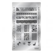 Konad Square image Plate Fancy 03