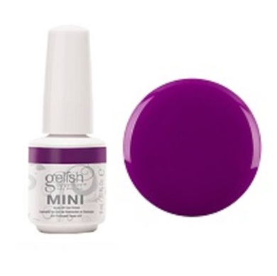 Tahiti hottie gelish mini diva nails