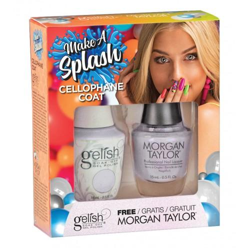 Gelish Cellophane Coat de la collection Make a Splash TOAK (2x15 ml)