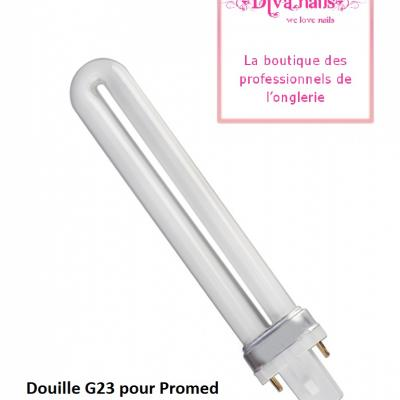 Promed ampoule bulbe de 9 Watt pour lampe UV tunnel Gel (G23)